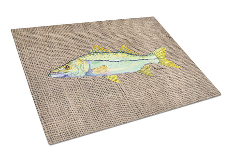 Buy this Fish - Snook Glass Cutting Board Large