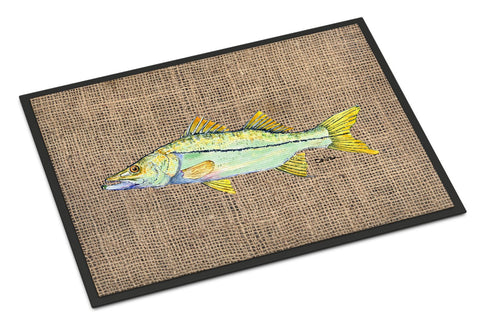 Buy this Fish - Snook Indoor or Outdoor Mat 18x27 Doormat