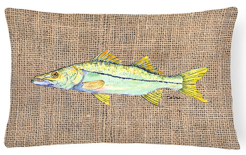 Buy this Fish - Snook Decorative   Canvas Fabric Pillow