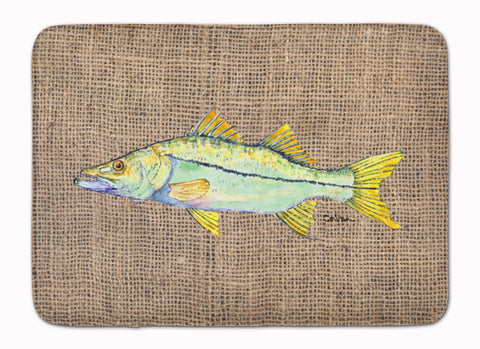 Buy this Fish - Snook Machine Washable Memory Foam Mat 8772RUG