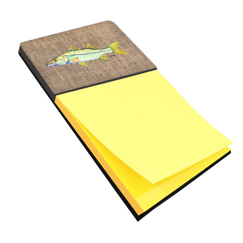 Buy this Fish - Snook Refiillable Sticky Note Holder or Postit Note Dispenser 8772SN
