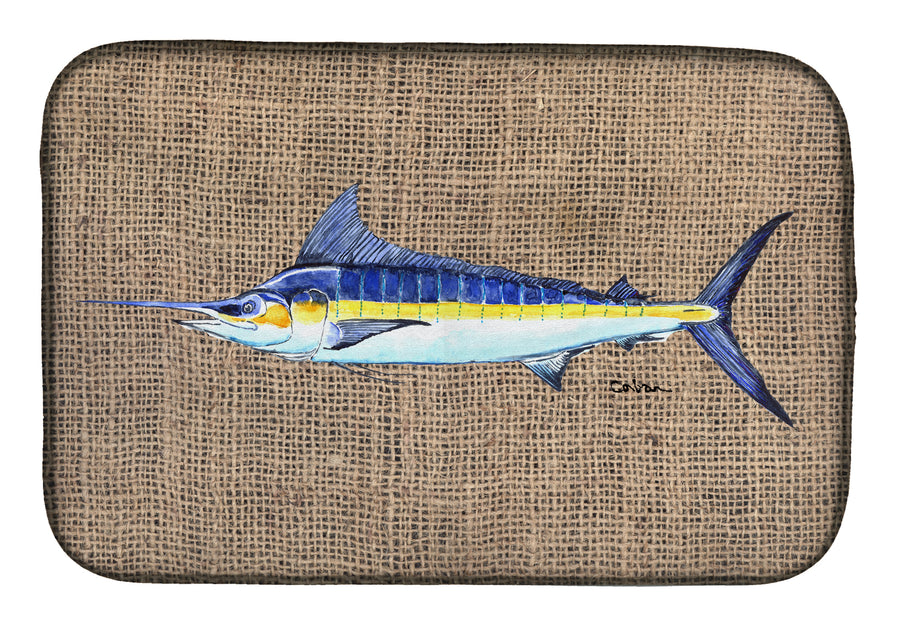 Buy this Fish - Marlin Dish Drying Mat 8773DDM