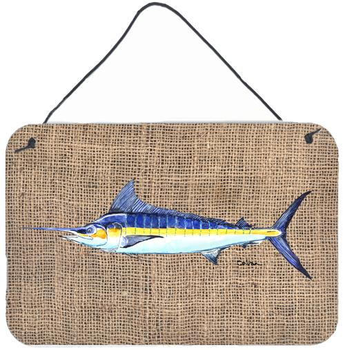 Buy this Fish - Marlin Indoor Aluminium Metal Wall or Door Hanging Prints