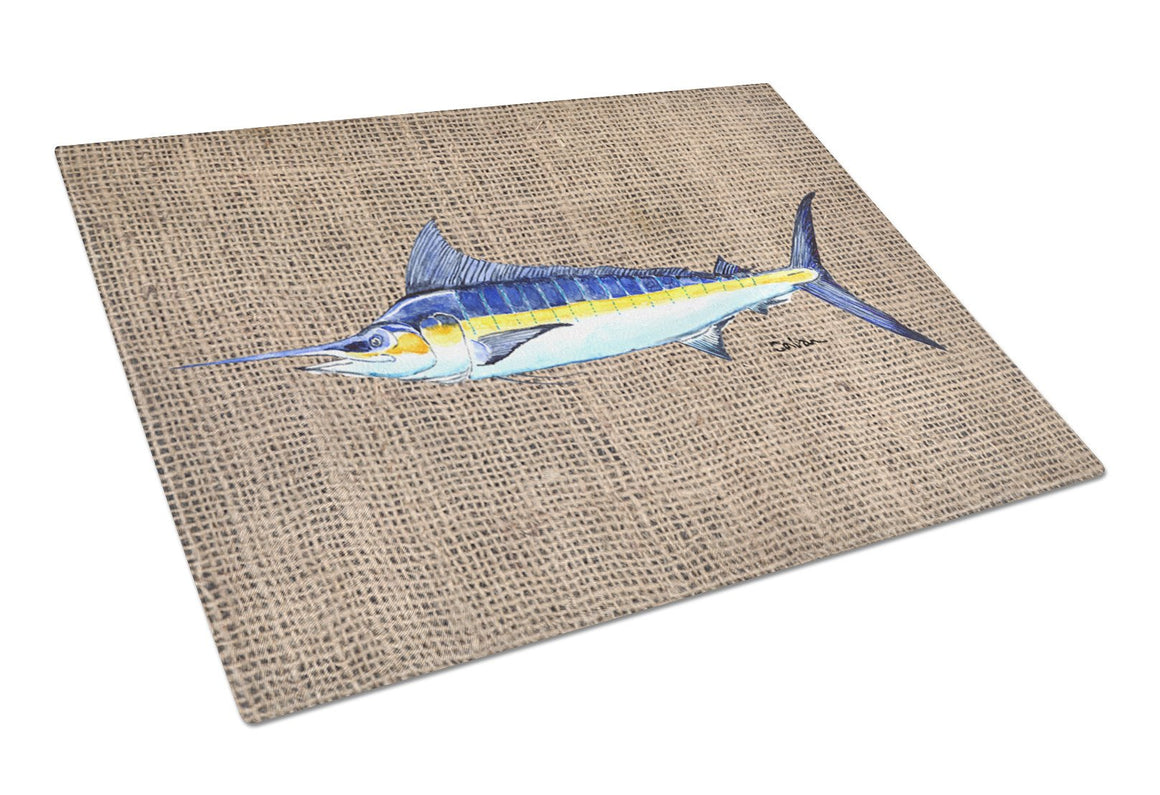 Buy this Fish - Marlin Glass Cutting Board Large