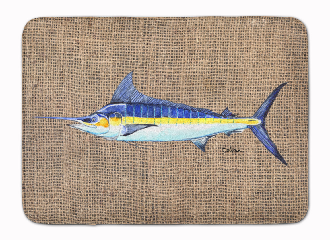Buy this Fish - Marlin Machine Washable Memory Foam Mat 8773RUG