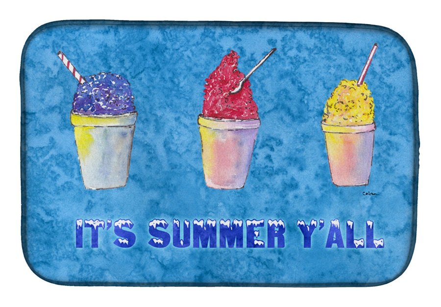 Buy this Snowballs and Snowcones Dish Drying Mat 8779DDM