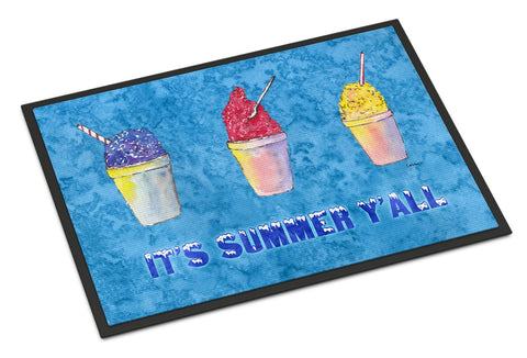 Buy this Snowballs and Snowcones Indoor or Outdoor Mat 24x36 Doormat