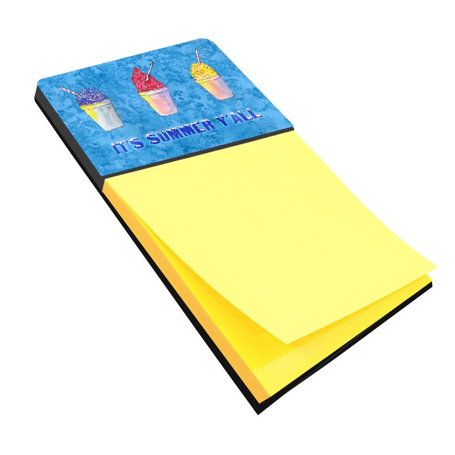Buy this Snowballs and Snowcones Refiillable Sticky Note Holder or Postit Note Dispenser 8779SN