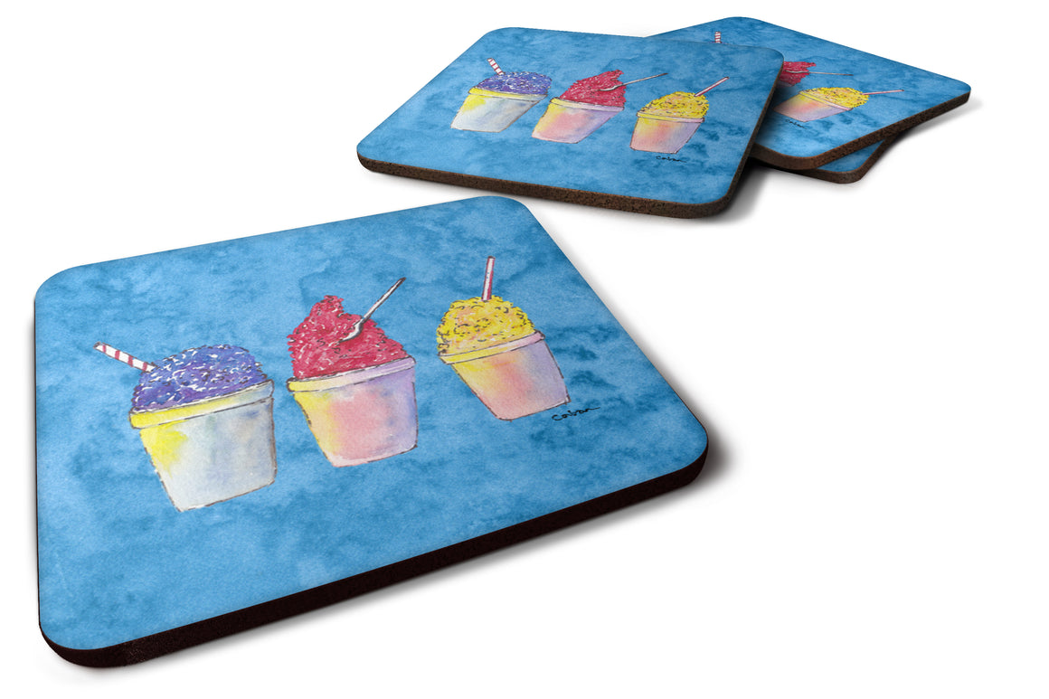 Buy this Set of 4 Snowballs Foam Coasters