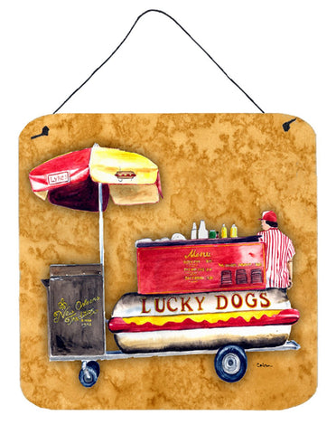 Buy this Lucky Dog Aluminium Metal Wall or Door Hanging Prints
