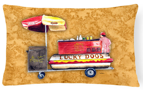 Buy this Hot Dog   Canvas Fabric Decorative Pillow