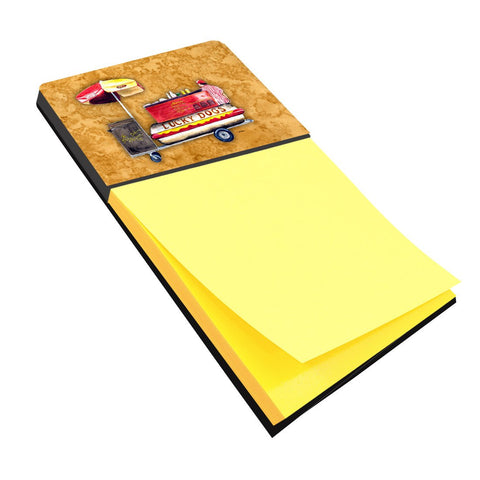 Buy this Hot Dog Refiillable Sticky Note Holder or Postit Note Dispenser 8781SN