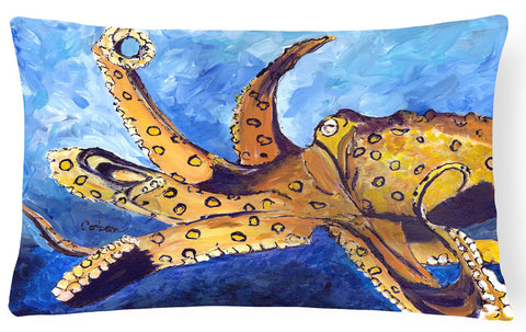 Buy this Octopus   Canvas Fabric Decorative Pillow