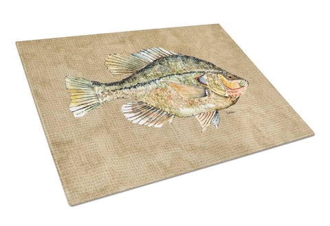 Buy this Croppie Glass Cutting Board Large