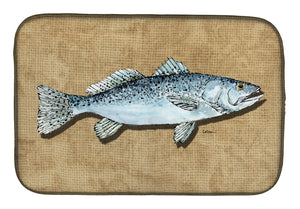 Buy this Speckled Trout Dish Drying Mat 8809DDM