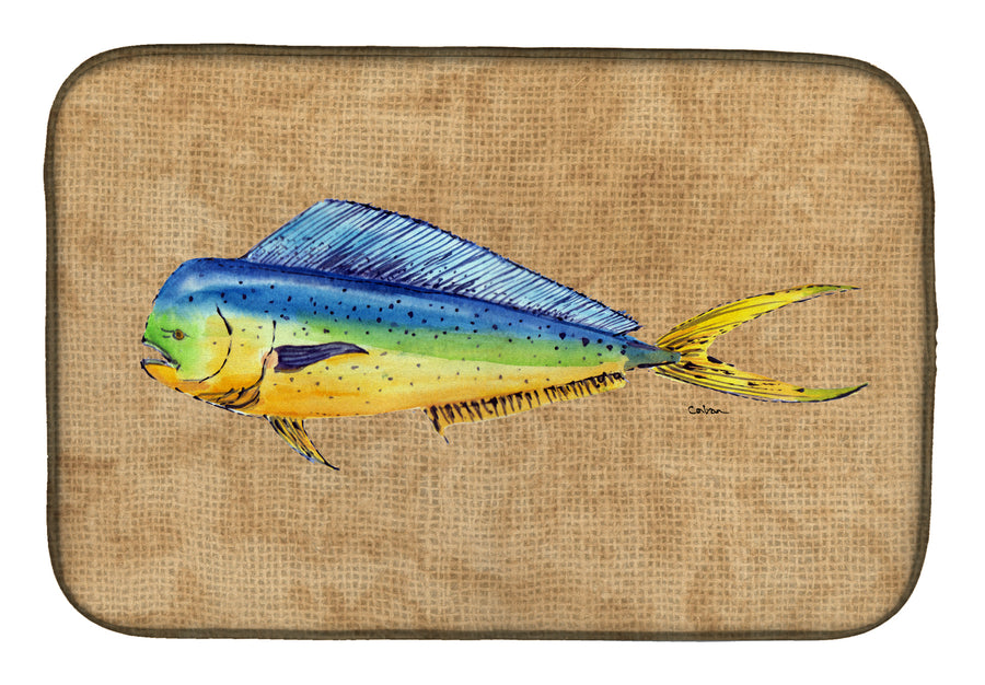 Buy this Dolphin Mahi Mahi Dish Drying Mat 8810DDM