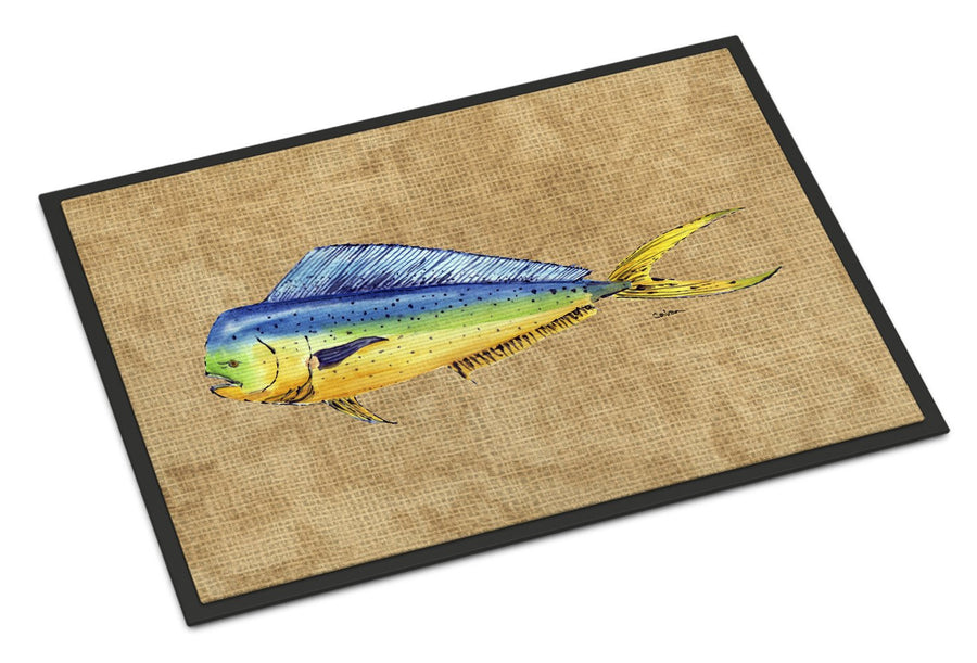 Buy this Dolphin Mahi Mahi Indoor or Outdoor Mat 24x36