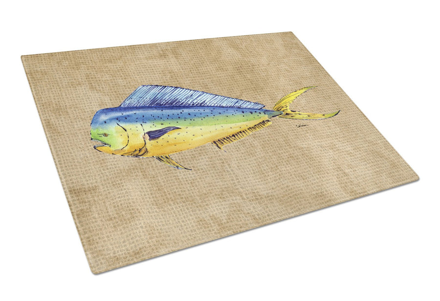 Buy this Dolphin Mahi Mahi Glass Cutting Board Large