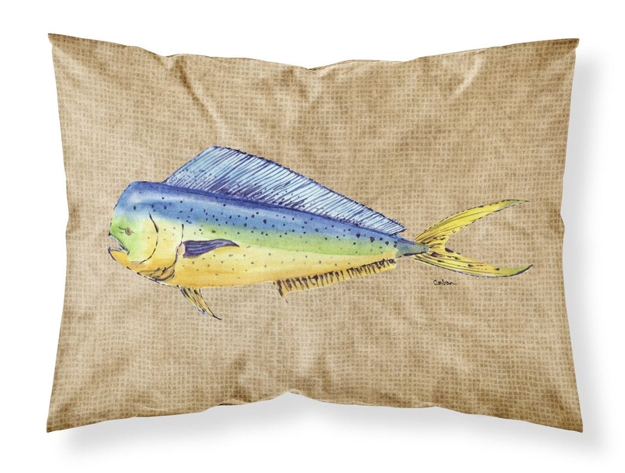 Buy this Dolphin Mahi Mahi Moisture wicking Fabric standard pillowcase