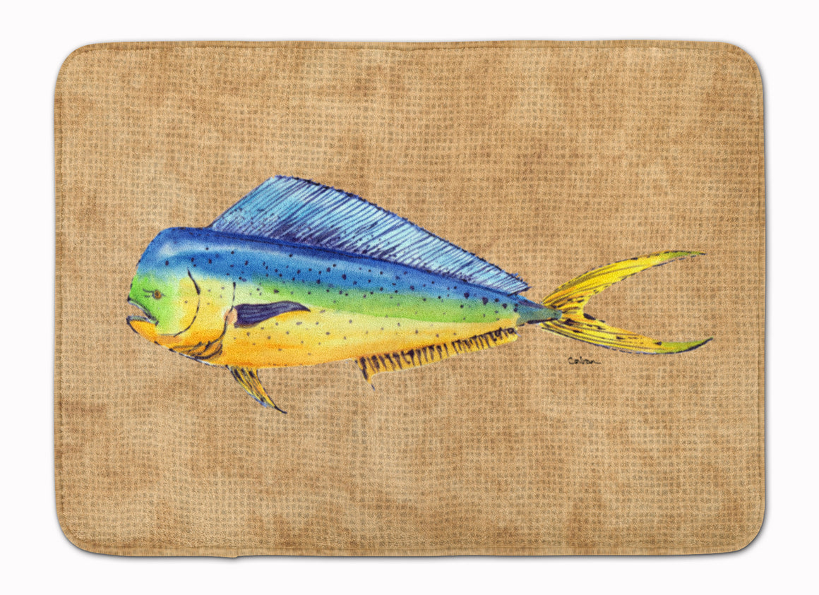 Buy this Dolphin Mahi Mahi Machine Washable Memory Foam Mat 8810RUG