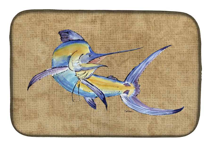 Buy this Blue Marlin Dish Drying Mat 8811DDM