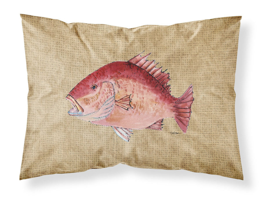 Buy this Strawberry Snapper Moisture wicking Fabric standard pillowcase