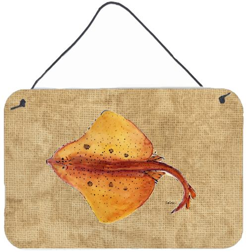 Buy this Blonde Ray Stingray Aluminium Metal Wall or Door Hanging Prints