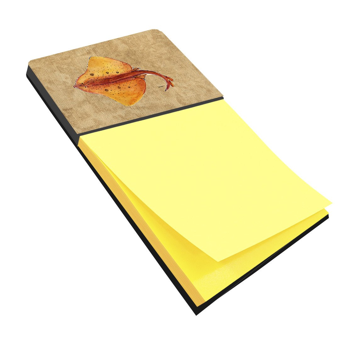Blonde Ray Stingray Refiillable Sticky Note Holder or Postit Note Dispenser 8815SN by Caroline's Treasures