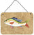 Buy this Rainbow Trout Aluminium Metal Wall or Door Hanging Prints