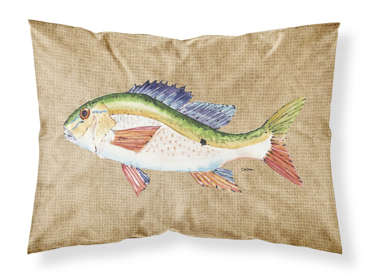 Buy this Rainbow Trout Moisture wicking Fabric standard pillowcase