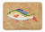 Buy this Rainbow Trout Machine Washable Memory Foam Mat 8816RUG