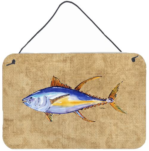 Buy this Tuna Fish Aluminium Metal Wall or Door Hanging Prints