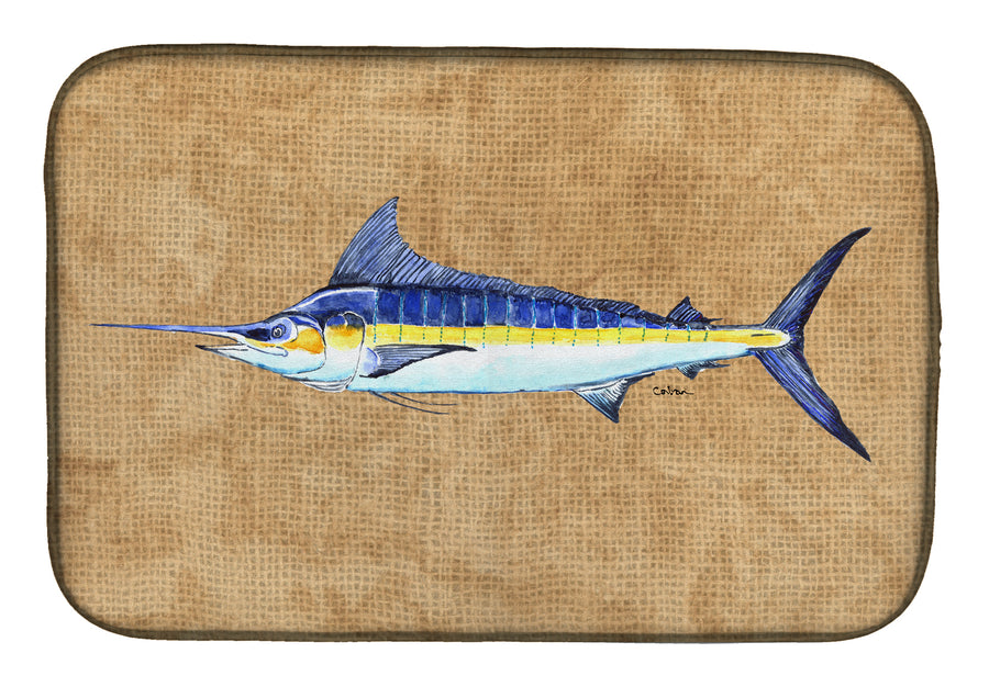 Buy this Blue Marlin Dish Drying Mat 8818DDM