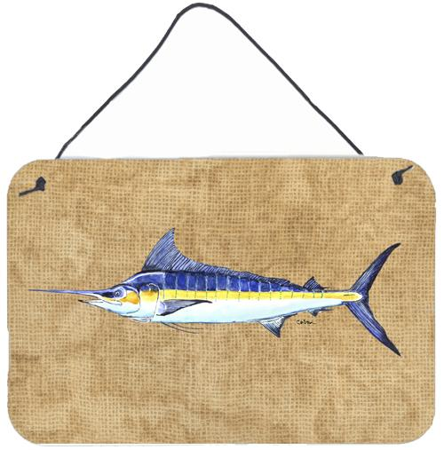 Buy this Blue Marlin Aluminium Metal Wall or Door Hanging Prints