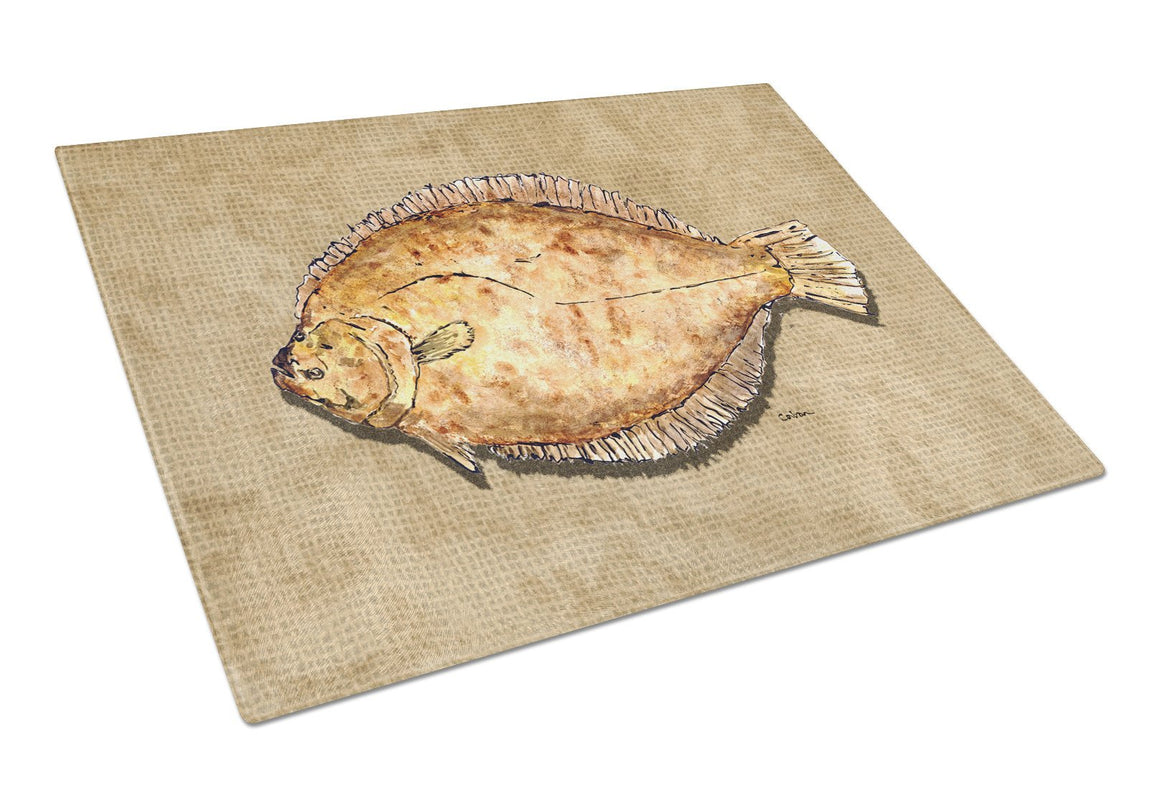 Buy this Flounder Glass Cutting Board Large