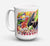 Buy this Gumbo and Potato Salad Dishwasher Safe Microwavable Ceramic Coffee Mug 15 ounce 8825CM15