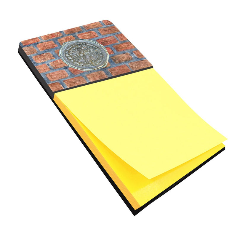 Buy this New Orleans Watermeter on Bricks Refiillable Sticky Note Holder or Postit Note Dispenser 8829SN