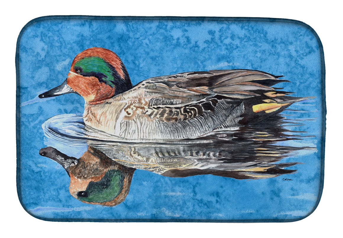 Buy this Teal Duck Dish Drying Mat 8830DDM