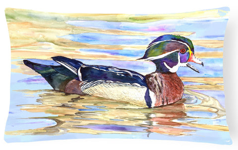 Buy this Wood Duck   Canvas Fabric Decorative Pillow