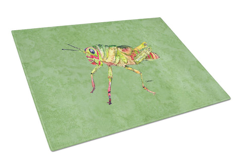 Buy this Grasshopper on Avacado Glass Cutting Board Large