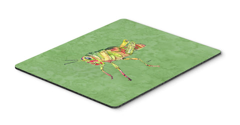 Buy this Grasshopper on Avacado Mouse Pad, Hot Pad or Trivet