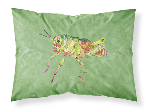 Buy this Grasshopper on Avacado Moisture wicking Fabric standard pillowcase