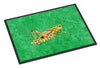 Grasshopper on Green Indoor or Outdoor Mat 18x27 Doormat - the-store.com