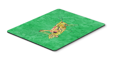 Buy this Grasshopper on Green Mouse Pad, Hot Pad or Trivet