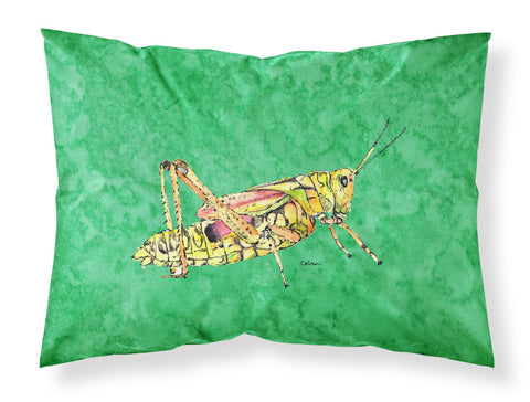 Buy this Grasshopper on Green Moisture wicking Fabric standard pillowcase