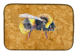 Buy this Bee on Gold Dish Drying Mat 8850DDM