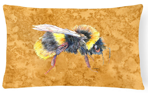 Buy this Bee on Gold   Canvas Fabric Decorative Pillow