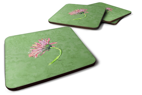 Buy this Set of 4 Gerber Daisy Pink Foam Coasters