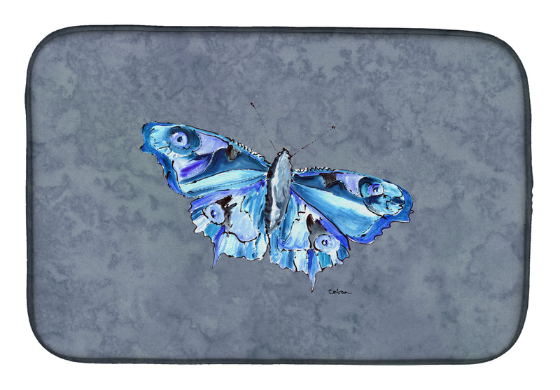 Buy this Butterfly on Gray Dish Drying Mat 8856DDM