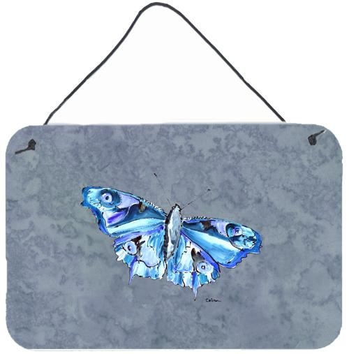 Buy this Butterfly on Gray Aluminium Metal Wall or Door Hanging Prints